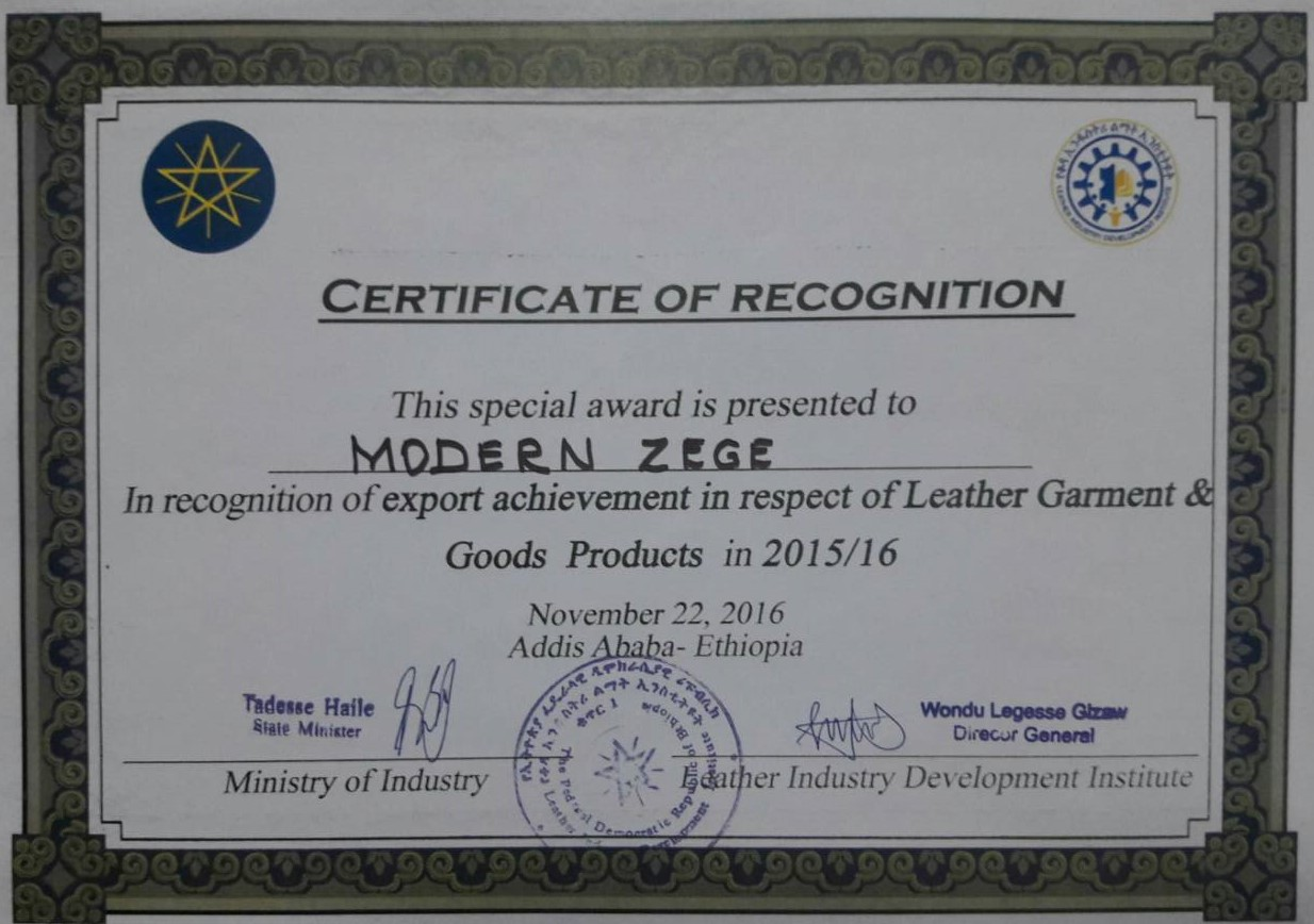 ABOUT US | Modern Zege Leather